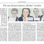 """Wie aus Konservativen """"Rechte"""" werden"""