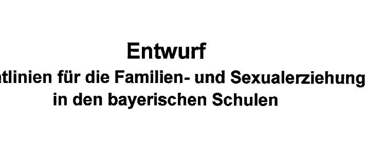 Bayern bald auch sexuell vielfältig?