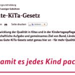 Schlechte-KiTa-Gesetz